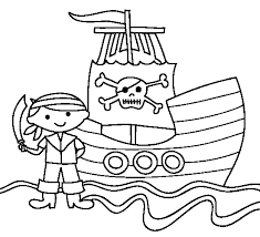 Statek Piracki Kolorowanki Online