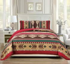 native american quilted bedspread