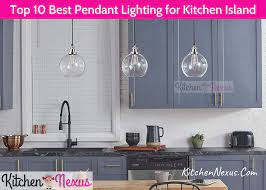pendant lighting for kitchen island