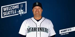 Mariners Add Manny Acta as Third Base Coach   by MarinersPR   From ...