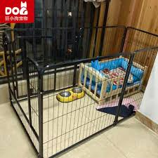 Pet Dog Fence Fence Indoor With Toilet Dog Cage Large Medium And Small Dog Free Combination Fence Dog Cage