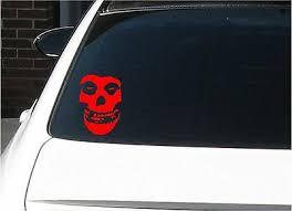 The Misfits Skull Vinyl Sticker Decal Car Sticker Punk Danzig Pick Size Color 2 39 Picclick