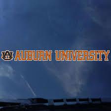 Auburn University Strip Decal Auburn University