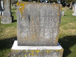 Frank Wesley Hayes (1845-1910) - Find A Grave Memorial