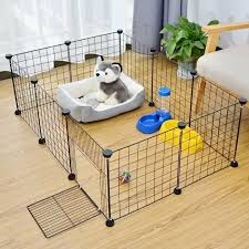 Household Isolated Rabbit Cage Combination Fence Panel Small Free Indoor Fence Fence Pet Cat Dog Dog Lazada Ph