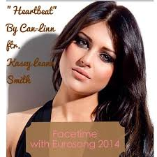 """Eurosong Video Interview : """"Heartbeat"""" by Can-Linn Featuring Kasey Leanne  Smith – Eurovision Ireland"""