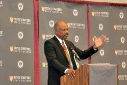 Around the College 2017: Sir Hilary Beckles University of the West Indies  UWI Vice Chancellor Delivers the Boyer Lecture   News and Information    SUNY Empire State College