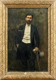Portrait dAdrian Ward Jackson by Victor Marec on artnet