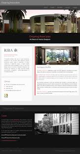interior design company profile format