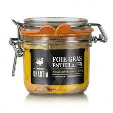 foie gras entier mi cuit en bocal de 200 gr