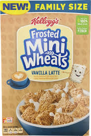 frosted mini wheats vanilla latte