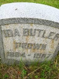 Ida Butler Brown (1884-1907) - Find A Grave Memorial