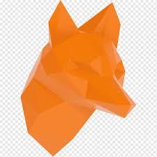 Sticker Wall Decal Adhesive Origami Trompe L œil Fox Geometric Png Pngwing