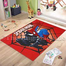 Other Kids Teens Furniture Ebay Spiderman Room Kids Fun Play Play Rug