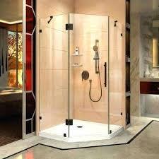 neo angle frameless shower door