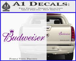 Budweiser Beer Hunting Fishing Decal Sticker Car Truck Window Bumper Laptop Wall