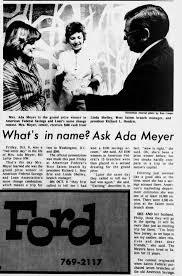 Ada Meyer prize winner - Newspapers.com