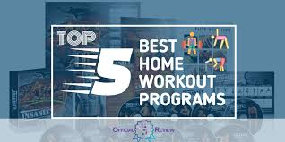 the 5 best home workout programs