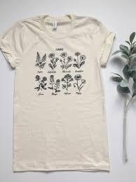 flower shirt plant shirt wildflower