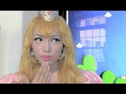 princess peach make up tutorial