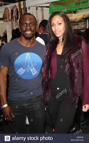 Former Miss England Rachel Christie and 'Wire' actor Gbenga ...