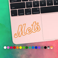 50 Off New York Mets Baseball Laptop Vinyl Decal Ny Mets Etsy
