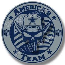 Dallas Cowboys America S Team Nfl Sticker Vinyl Decal