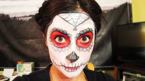 day of the dead makeup easy saubhaya