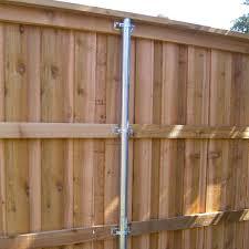 Wap Oz Steel 2 Wood Fence Bracket Ozco Building Products