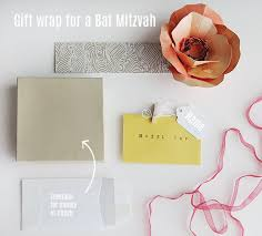 gift wrap for a bat mitzvah