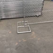 China 10 L X 6 H Construction Portable Mobile Temp Fence Chain Link Fence Panels Photos Pictures Made In China Com
