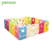 Best Seller Baby Playpen Kids Play Yard Fencing For Children Plastic Fence Kids Baby Safety Fence Safety Barriers For Children Protector November 2020