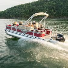 Lowe Sf214v Sport Fishing Pontoon Boats 21 Sport Fishing Pontoons