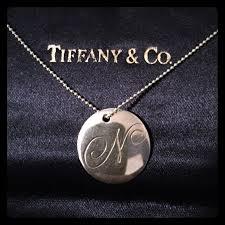 co notes letter n pendant necklace