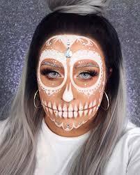 sugar skull makeup ideas for halloween