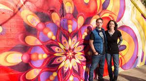 Chicago murals: Lea Pinsky, Dustin Harris have been bringing ...