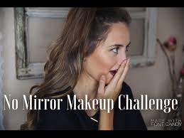no mirror makeup challenge kristin