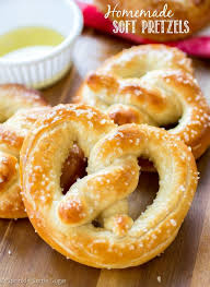 homemade soft pretzels sprinkle some