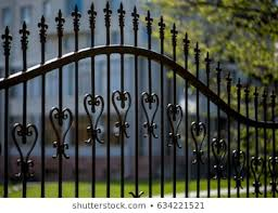 Wrought Iron Fence Images Stock Photos Vectors Shutterstock