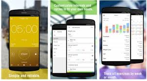 interval timer apps for android ios