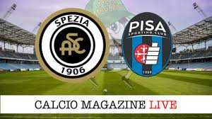 Diretta Spezia - Pisa: risultato in tempo reale, tabellino