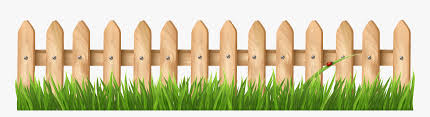 Fence With Grass Transparent Png Clipart Wooden Fence Vector Png Png Download Transparent Png Image Pngitem