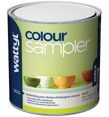 Wattyl 500ml Colour Sampler White