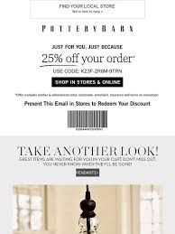 pottery barn email newsletters