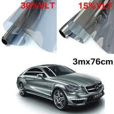 3mx76cm lvt car auto window glass tint