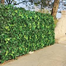 Super Deal 39f6e Artificial Hedge Leaves Plants Fake Ivy Wall 10 X10 Plastic Vertical Garden Uv Proof Privacy Backyards Wedding Decorations Cicig Co