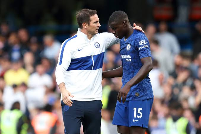 Image result for kurt zouma and frank lampard""