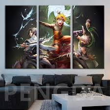Modern Home Decorative Bedroon Wall Japan Naruto Shippuden Posters ...