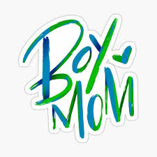 Boy Mom Stickers Redbubble