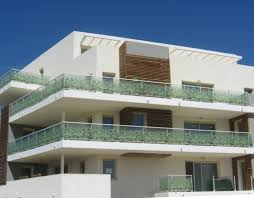 glass design exterior balcony